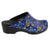BJORK Shop BJORK Starry Open Back Leather Clogs