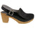 BJORK Shop BJORK SVEA Wood Fashion Clog Sandals in Patent Leather