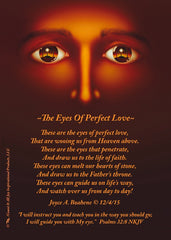 The Eyes of Perfect Love Photo Print