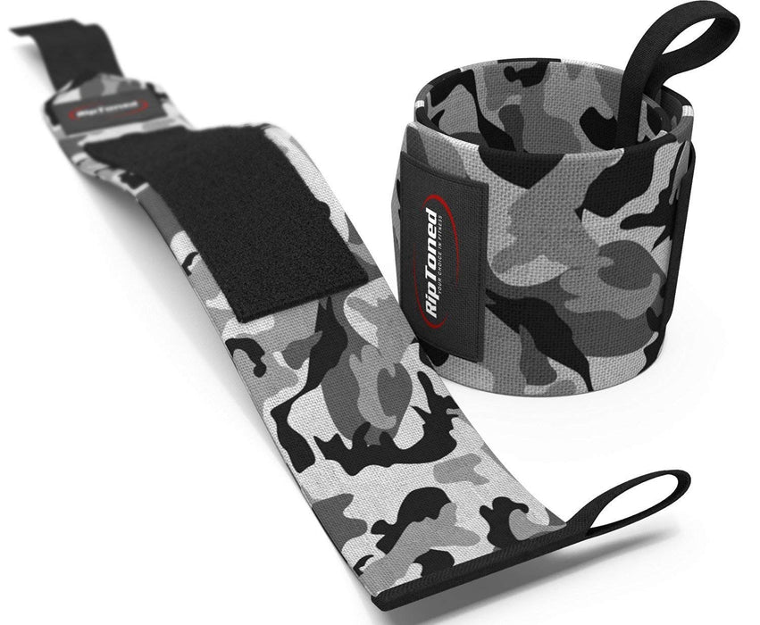 """Rip Toned Wrist Wraps 18/"""" Professional Grade with Thumb Loops Wrist Support"""