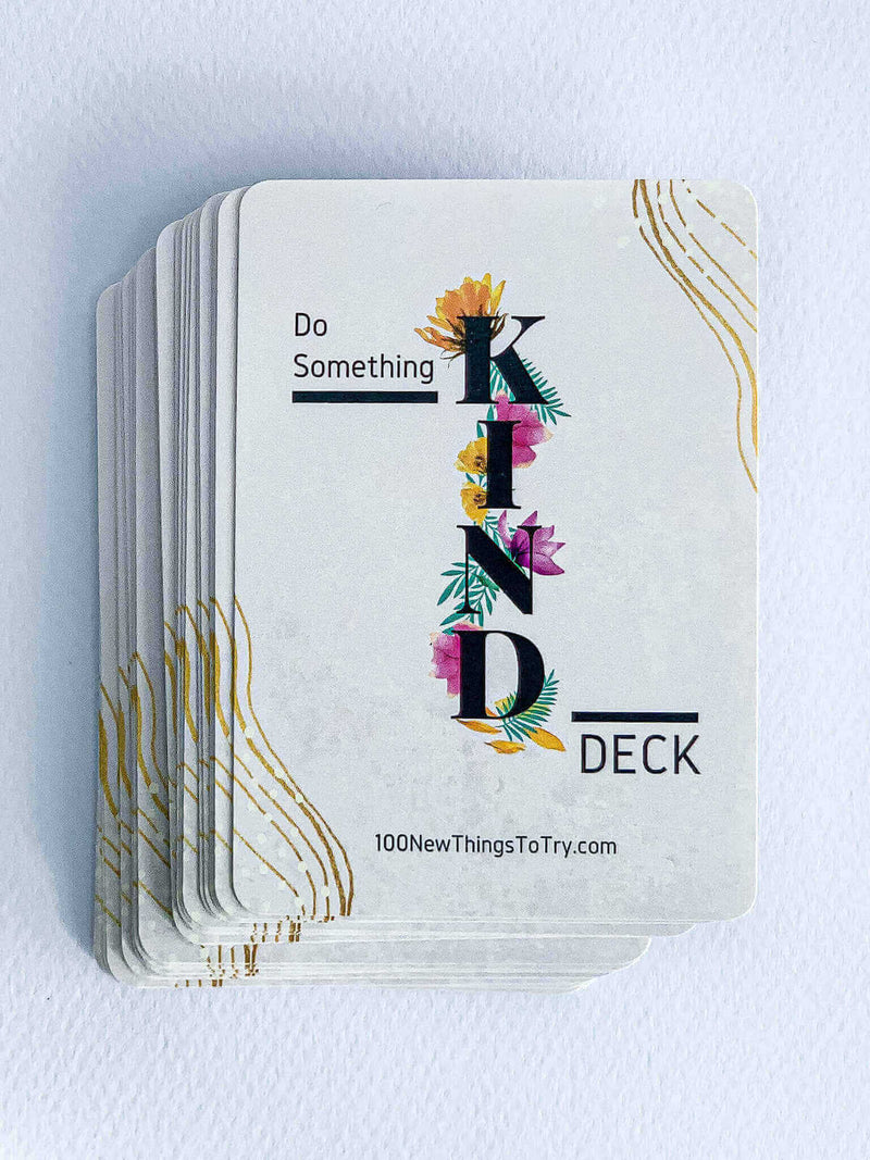 The COMBO: 2x Do Something KIND Deck