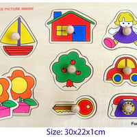 Fun Factory - Peg Puzzle Everyday Items