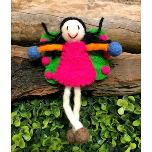 Himalayan Journey - Felt Butterfly Fairy Small