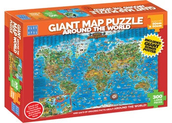 Blue Opal - Puzzle 300p Giant Around The World