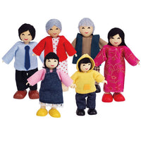 Hape - Doll Family Asian