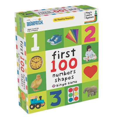 Briarpatch - First 100 Numbers & Shapes Bingo Game