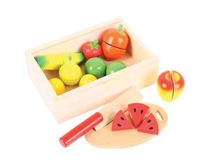 Bigjigs - Cutting Food Crate Fruit