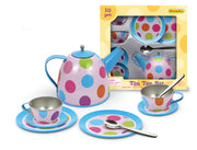 Champion - Tin Tea Set Polka Dots 10p