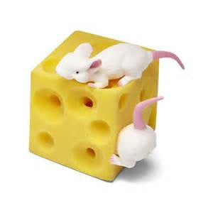 Keycraft - Stretchy Mice & Cheese