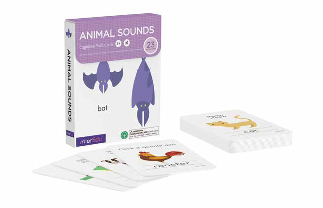 Mieredu - Flash Cards Animals Sounds