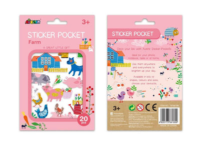 Avenir - Sticker Pocket Farm