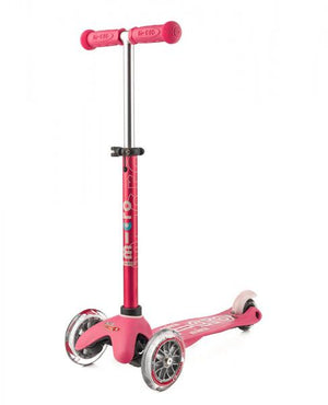 Micro Scooters - Mini Micro Deluxe 3 Wheel Scooter Pink