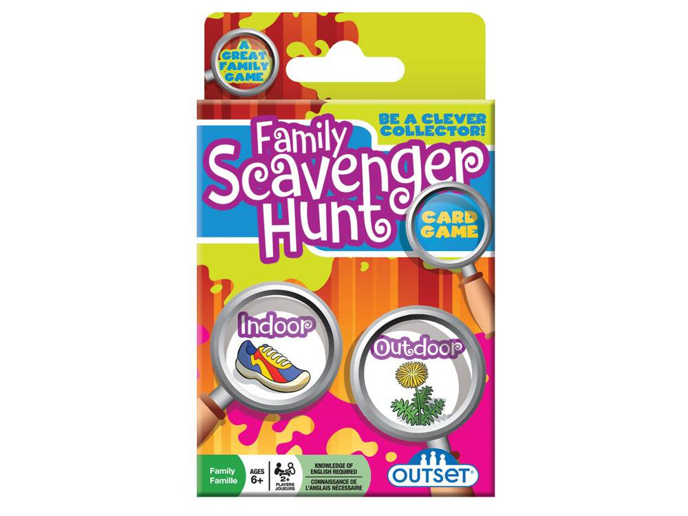 Outset - Family Scavenger Hunt Card Game