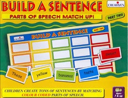 Creative's - Build a Sentence Part 2