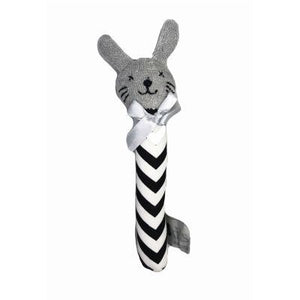 ES Kids - Bunny Rattle Black