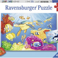 Ravensburger - Puzzle 2x24p Vibrance Under the Sea