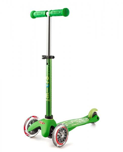 Micro Scooters - Mini Micro Deluxe 3 Wheel Scooter Green