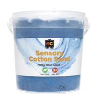EC - Sensory Cotton Sand 700g Blue