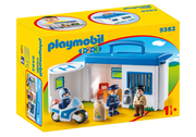 Playmobil - 123 Take Along Police Station
