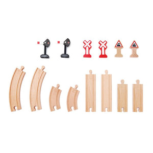 Hape - Mechanical Railway Signals Set