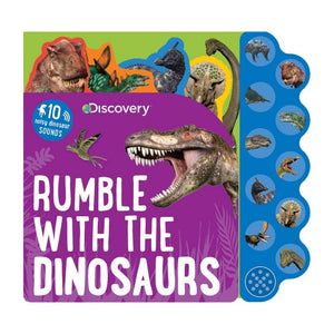 Rumble with the Dinosaurs Sound Book