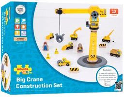 Bigjigs - Crane Construction Set