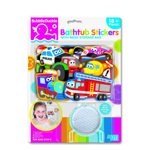 4M - Bathtub Stickers Transport