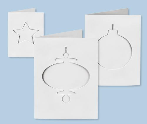 Zart - Cards & Envelopes - Christmas Cut-Outs