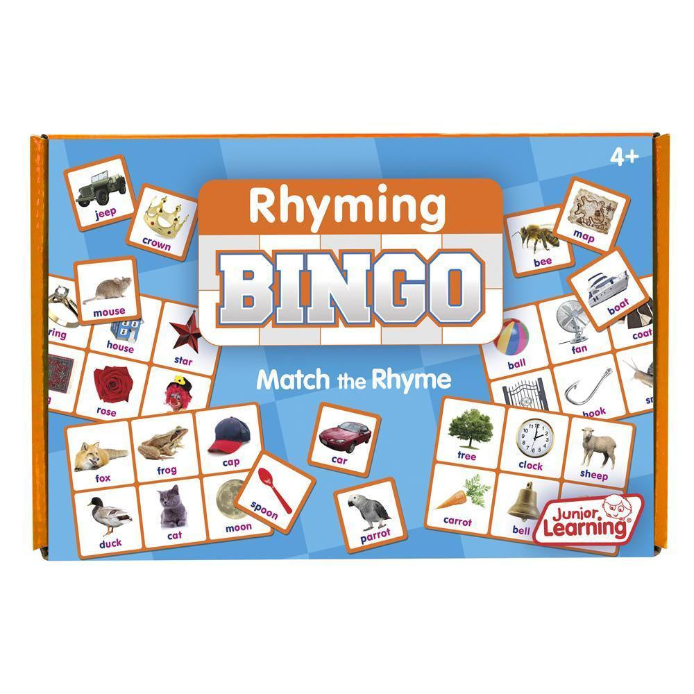Junior Learning - Bingo Rhyming