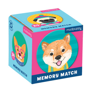 Mudpuppy - Mini Memory Match Dog Portraits