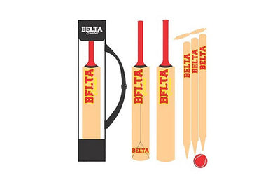 Belta - Cricket Set Wooden Mini