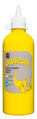 EC - Liquicryl Paint 500ml Yellow