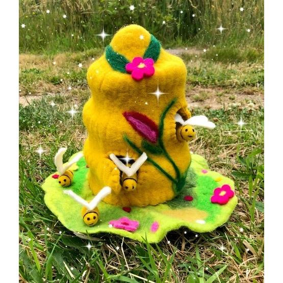 Himalayan Felt Co - Bee Beamsprite Fairy Home