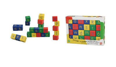 Pintoy - Alphabet & Number Blocks