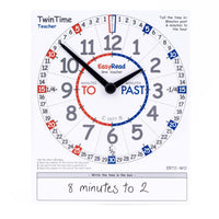 EasyRead Time Teacher - TwinTime Student Card