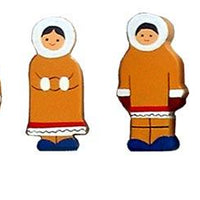 Sri Toys - Wooden Family Eskimo