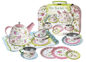 Kaper Kidz - Tin Tea Set Bird