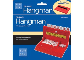 Blue Opal - Travel Hangman Game