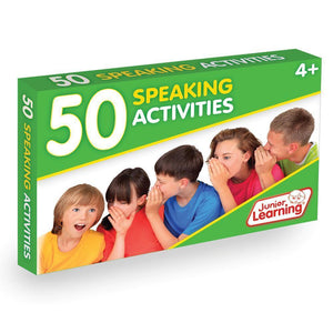 Junior Learning - 50 Speaking Activity Cards