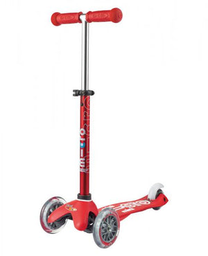Micro Scooters - Mini Micro Deluxe 3 Wheel Scooter Red