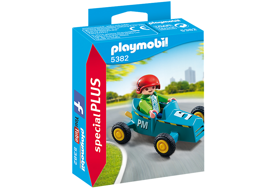 Playmobil - Boy with Go-Kart