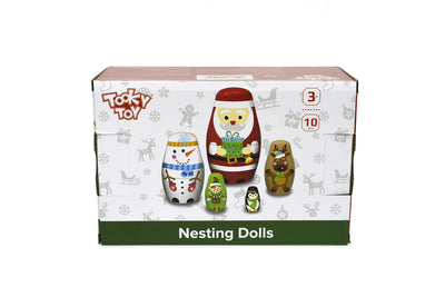 Tooky Toy - Christmas Nesting Dolls