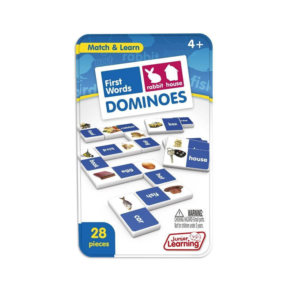 Junior Learning - Dominoes First Words