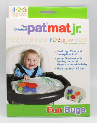 1 2 3 Grow - Pat Mat Jr. Fun Bugs