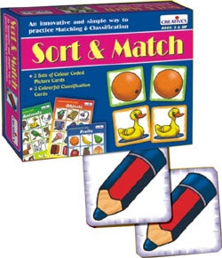 Creative's - Sort & Match