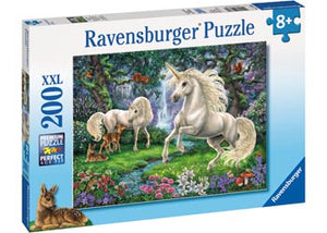 Ravensburger - Puzzle 200p Mystical Unicorns