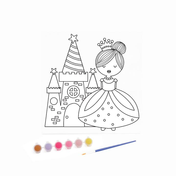 Kaisercraft - Canvas Art Kit Princess