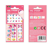 Avenir - Nail Stickers Glitter Unicorn