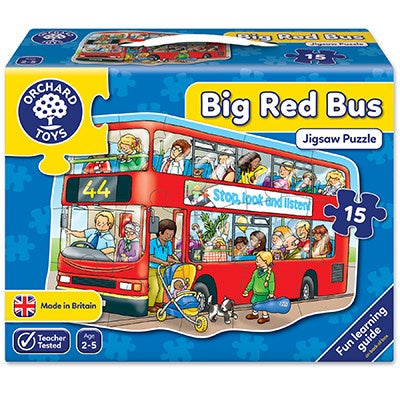 Orchard - Puzzle Big Red Bus