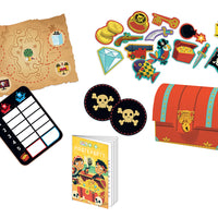 Djeco - Pirate Party Games Pack